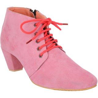 Exotique Womens Pink Casual Boot (EL0040PK)