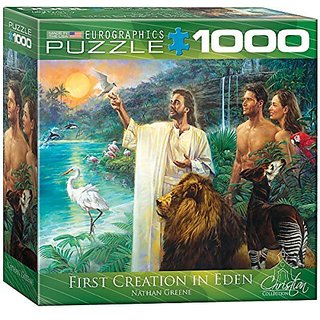 EuroGraphics First Creation Eden Puzzle (Small Box) (1000-Piece)