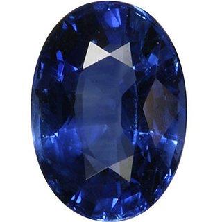 Ratna Gemstone Blue Sapphire (Neeelam) 10.50 Ratti Certified Natural Rashi Ratan Gemstone