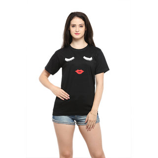Buy Sv Funky Tees Black Eye And Pout Online - Get 55% Off 3db3cd76377b
