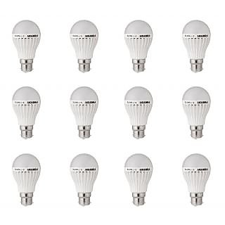 Xingda Home enlightening 12 led bulbs combo (5 bulbs of 3 watt ,3 bulbs of 5 watt,2 bulbs of 7 watt,2 bulbs of 12 watts)