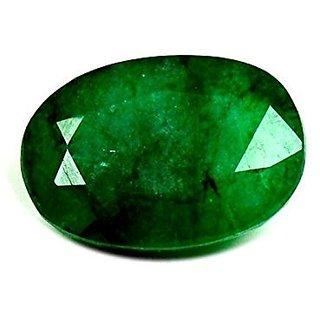 Ratna Gemstone Emerald Stone (Panna)   6.50 Ratti Certified Natural Rashi Ratan Gemstone