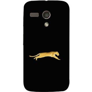 290fe13be4bc FUSON Designer Back Case Cover for Motorola Moto G    Motorola Moto G (1st  Gen)    Motorola Moto G Dual (Wild Jungle Tigers Whisker Roaring Sitting  Safari ...