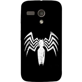 FUSON Designer Back Case Cover for Motorola Moto G :: Motorola Moto G (1st Gen) :: Motorola Moto G Dual (Spiderman Logo Catwoman Dc Comics Parker)