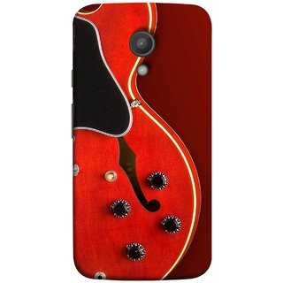 FUSON Designer Back Case Cover for Motorola Moto G2 :: Motorola Moto G (2nd Gen)  (Close Up Of Electric Guitar Leaning On Amplifier )