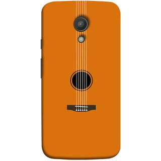FUSON Designer Back Case Cover for Motorola Moto G2 :: Motorola Moto G (2nd Gen)  (Musical Instrument Vintage Bass Music Lovers Play)