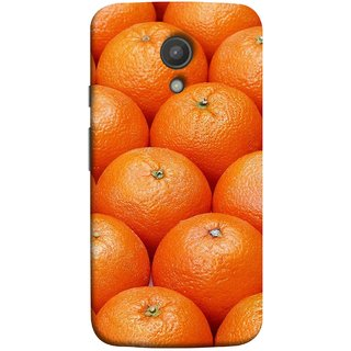FUSON Designer Back Case Cover for Motorola Moto G2 :: Motorola Moto G (2nd Gen)  (Countryside Scent Of Orange Blossoms Citrun )