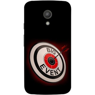 FUSON Designer Back Case Cover for Motorola Moto G2 :: Motorola Moto G (2nd Gen)  (Big Event Bulls Eye Arrow Target Sign Bang On)