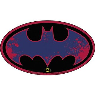 Batman DC Comics Splatter Logo Sticker