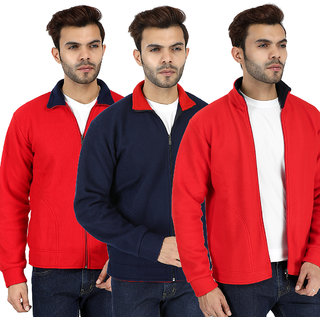 Combo of 3 Sweatshirt Jacket For Men By American Falcon