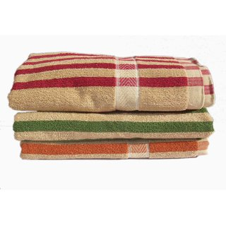 Quality Cotton Bath Towel for the Home Set of 3 Bath Towel ( mc3100 )