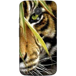 FUSON Designer Back Case Cover for Motorola Moto G2 :: Motorola Moto G (2nd Gen)  (Animal Bengal Indian Jungle King Whiskers Grass)