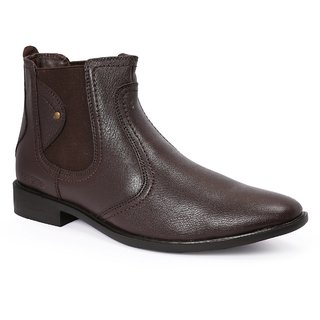856b187728d Buy Red Chief Brown Men High Ankle Boot Formal Leather Shoes (RC3498 ...