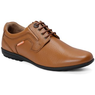 Red Chief MenS Tan Formal Leather Shoe Rc3511 006