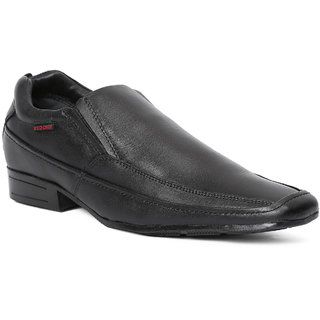 Red Chief MenS Black Formal Leather Shoe Rc6007 001