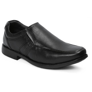 Red Chief MenS Black Formal Leather Shoe Rc21055 001