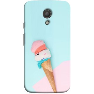 FUSON Designer Back Case Cover for Motorola Moto G2 :: Motorola Moto G (2nd Gen)  (Colourful Ice Cream Toy Baby Babies Chilling)