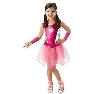 Rubies Marvel Universe Classic Collection Pink Spider-Girl Costume, Child Small