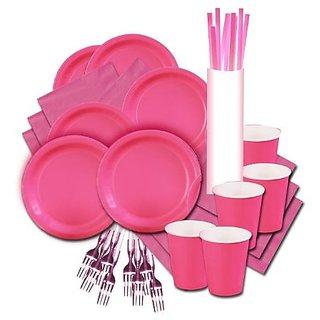 WeGlow International Pretty In Pink Glow Party Kit Forks