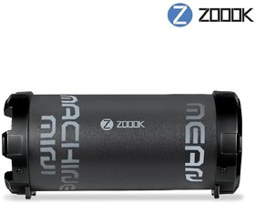 Zoook ZB-Rocker Mean Machine Mini M3 8W Bluetooth Speakers (Black)