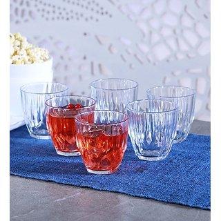 Pasabahce Diamond Glass 275 ML Tumblers - Set of 6