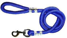 Petshop7 High Quality Large Spiral Dog Leash Rope 18MM 162 cm Dog Cord Leash  (Blue)
