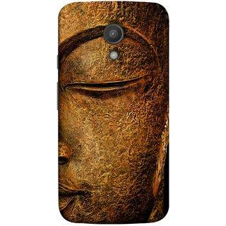 FUSON Designer Back Case Cover for Motorola Moto G2 :: Motorola Moto G (2nd Gen)  (Gautam Buddha Statue Scenary Lord Siddharth)