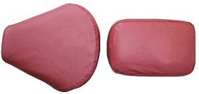Bike Seat Cover For Bullet Motorcycle Classic Classic Desert Storm -Maroon