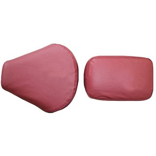 Bike Seat Cover For Bullet Motorcycle Classic Classic 500cc -Maroon