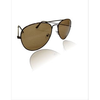 A ICONIC Inc Brown Lens with Brown Metal Frame (DOSI-A-005)