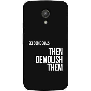 FUSON Designer Back Case Cover for Motorola Moto G2 :: Motorola Moto G (2nd Gen)  (Motivational Inspirational Saying Quotes Words Big)