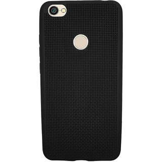 Just Click Back CoverRedmi Y1 Net Jali (Black, Rubber)