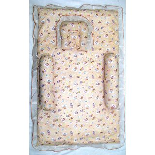 Love Baby Mix N Match Mattress (Gaddi) Set 643 Big (Peach)