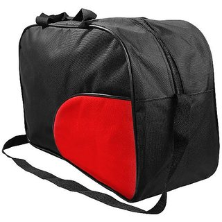 Buy Branded Stylish Black and Red Fabric Duffle Bag Online - Get 69% Off ada2c29e6f77c
