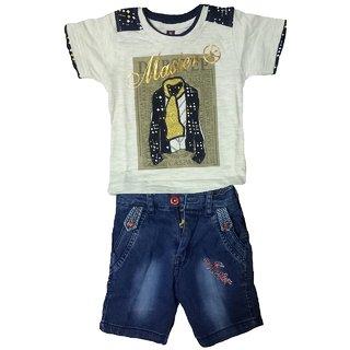 Boys tshirt capri set
