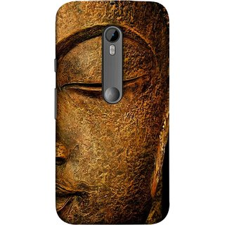 FUSON Designer Back Case Cover for Motorola Moto G3 :: Motorola Moto G (3rd Gen) :: Motorola Moto G3 Dual SIM (Gautam Buddha Statue Scenary Lord Siddharth)