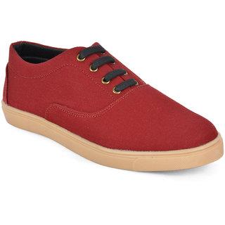 Wega Life Maroon Men's Sneakers