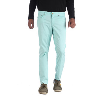 Fab Men's Multicolor Regular Fit Formal Trousers