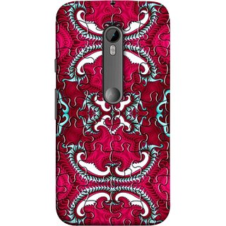 FUSON Designer Back Case Cover for Motorola Moto G3 :: Motorola Moto G (3rd Gen) :: Motorola Moto G3 Dual SIM (Best Wallpaper Red Dark Shade Table Design Artwork)