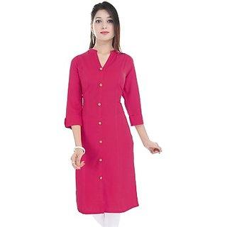 ske plane designer stitched cotton kurti for women