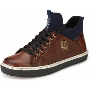 Alberto Torresi Gaton TAN+BLUE (VICO) Boot
