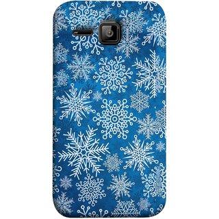 FUSON Designer Back Case Cover for Micromax Bolt S301 (Different Size Winter Snow Enjoying Pattern World)