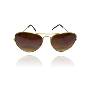A ICONIC Inc Double Shade Lens with Golden Metal Frame (DOSI-A-007)