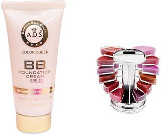 ADS BB Cream (SPF-20) / Lipgloss Palette  (Set of 2)