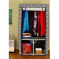 Wardrobe With Metal Frames (Sealed & Original Pack With All Attachments )