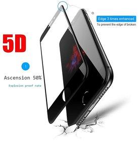 FULL HD 5D Full Screen Tempered Glass Guard For Apple I