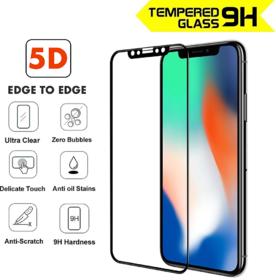 FULL HD 5D Full Screen Tempered Glass Guard For Apple I - 133452006