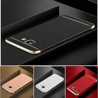half off 2a0f2 c2b36 3 in 1 Electroplated Bumper Hard Back Cover Case FOR SAMSUNG GALAXY J7 Max  ON Max