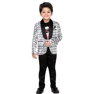 9f72f405a3 AJ Dezines Kids Party Wear Coat Suit Set For Boys