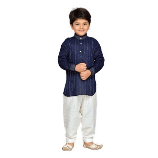 30ae80225 Buy AJ Dezines Boys Pathani Suit for Kids Online - Get 57% Off